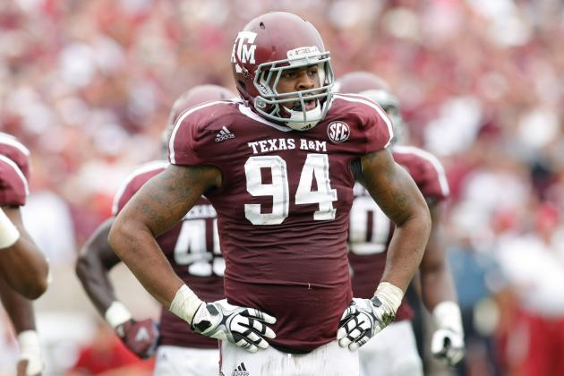 Cotton Bowl 2013: Damontre Moore Is the Key for Texas A&M vs. Oklahoma