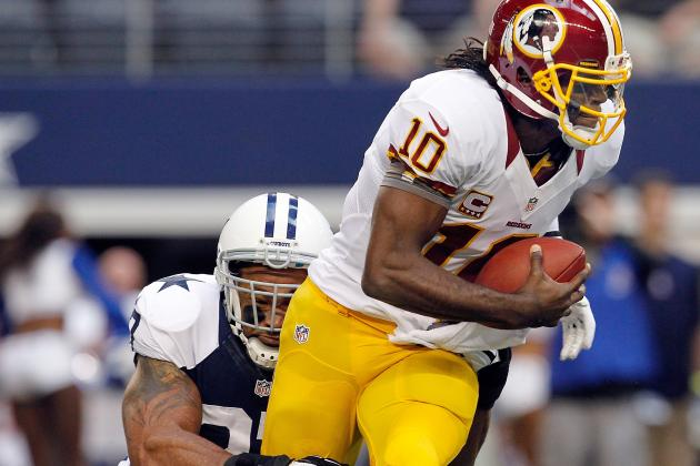 Cowboys Want to Bring Pain to RG3