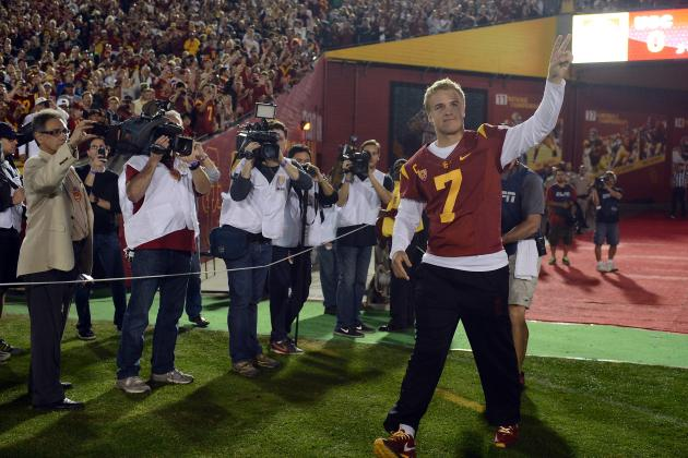 Quarterback Matt Barkley Is at Peace with End of USC Career