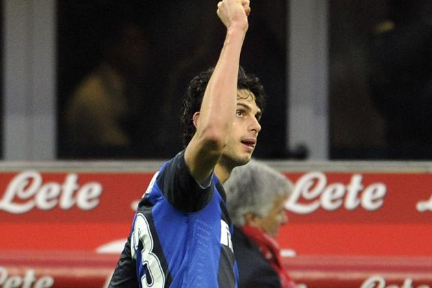 Inter Milan's Andrea Ranocchia Banned 2 Games by Serie A