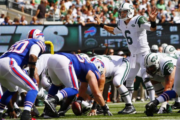 Breaking Down Mark Sanchez's History vs. Buffalo Bills