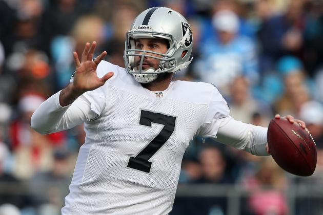 Raiders QB Matt Leinart: 'I Deserve to Start'