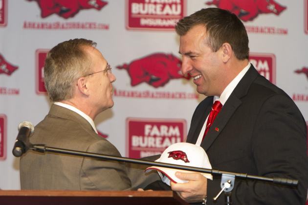 Bielema Continues Piecing Together Staff During 'Whirlwind' Stretch