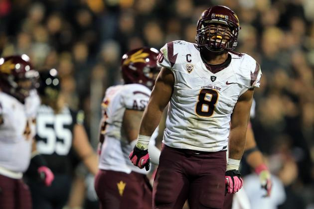 Fight Hunger Bowl 2012: Key Sun Devils Players Whom Navy Must Contain