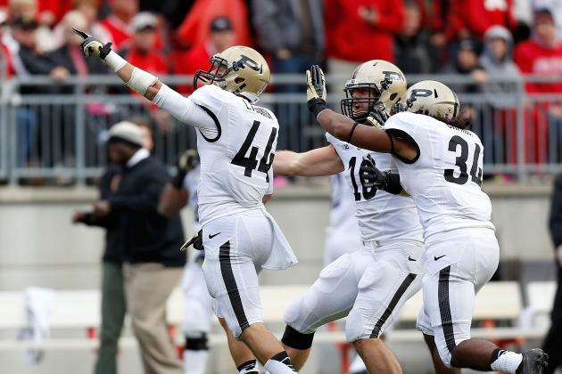 Purdue Embraces Underdog Role