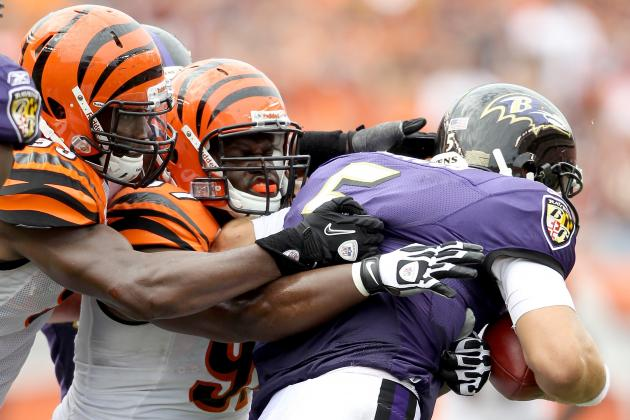 Ravens vs. Bengals: Cincinnati's Pass Rush Cannot Let Up Against Rival Ravens