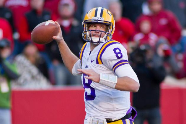Zach Mettenberger Wants to Get a Running Start on 2013 in Chick-Fil-a Bowl
