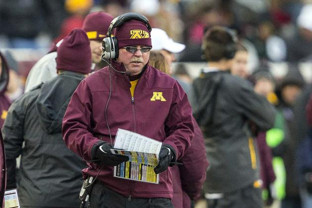 Minnesota's Jerry Kill Refuses to Let Epilepsy Remove Him from the Sideline