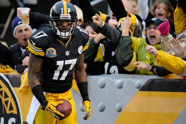 Steelers WR Mike Wallace Ruled out Sunday vs. Browns with Leg Injury