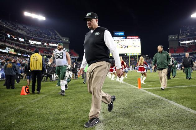 New York Jets Must Part with Rex Ryan in Offseason