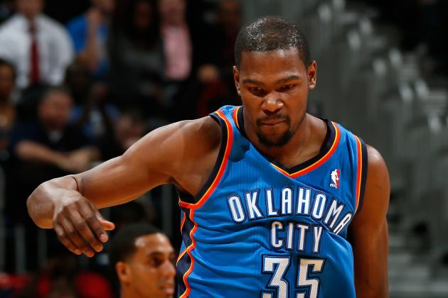 Kevin Durant Remains Starter in All-Star Balloting