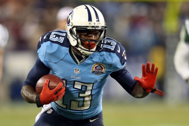 Tennessee Titans' Kendall Wright Finds His Way