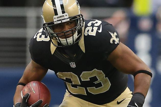 Pierre Thomas Among 3 Ruled out for Sunday