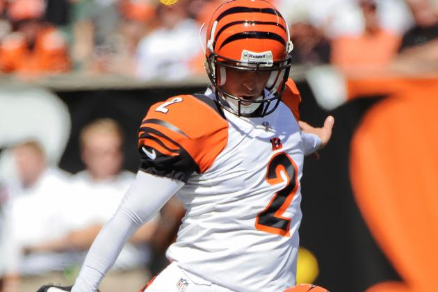 Bengals Place Nugent on Season-Ending IR