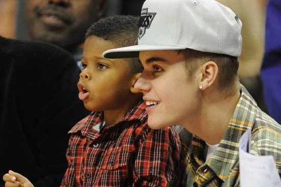 Photo: Clippers' Babysitter Justin Bieber
