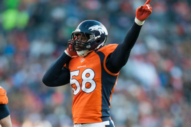 Five Broncos to Pro Bowl; Six Alternates