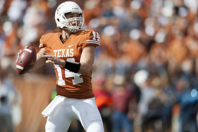 Alamo Bowl 2012: Why David Ash Is the Right Choice to Start for the Longhorns