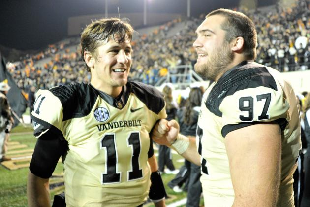 Vanderbilt's Jordan Rodgers Won't Let 2011 Bowl Struggles Weigh on Him