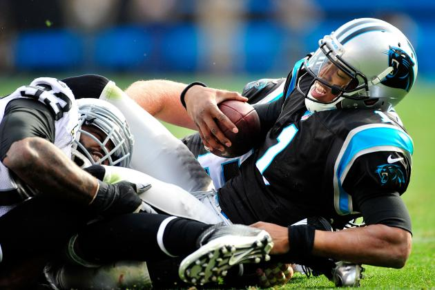 Newton Fined Twice, for Ref-Bump and Kick Against Raiders