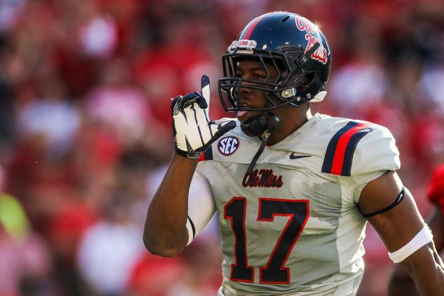 Rebels' TE Mosley Ineligible for Bowl
