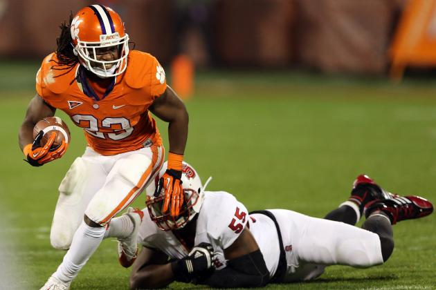 Clemson's Ellington Can''t Disappear Against LSU