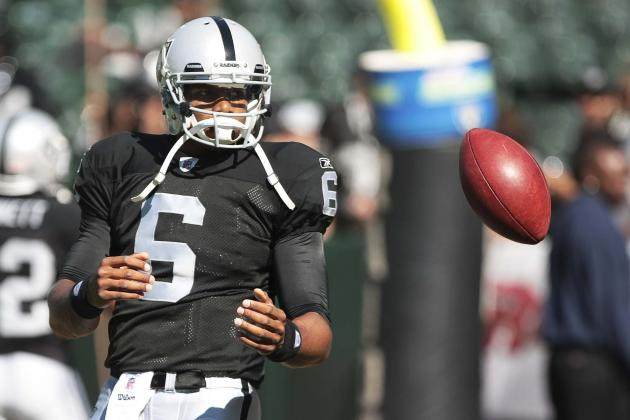 Oakland Raiders Name Terrelle Pryor Starting QB for Sunday's Game