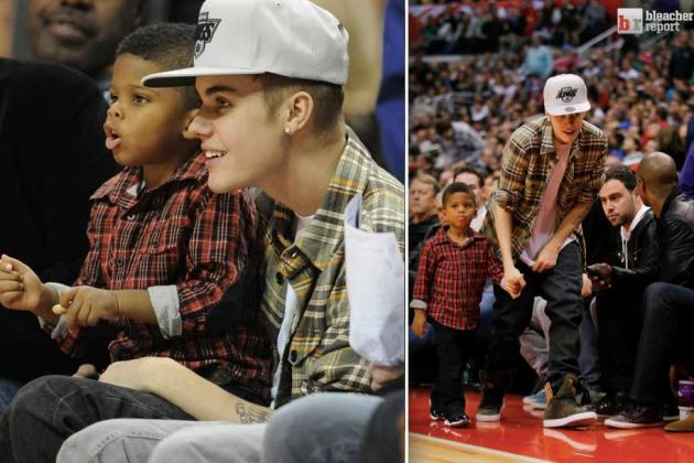 Bieber Babysits for CP3
