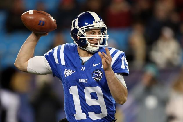Duke QB Sean Renfree Has Surgery to Repair Torn Chest Muscle