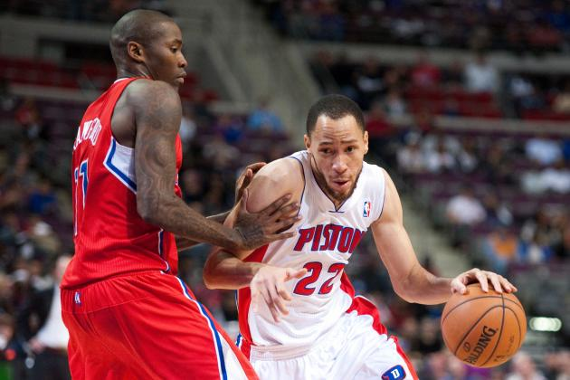 Watch: Tayshaun Prince Dunks on Bosh with 1-Handed Flush