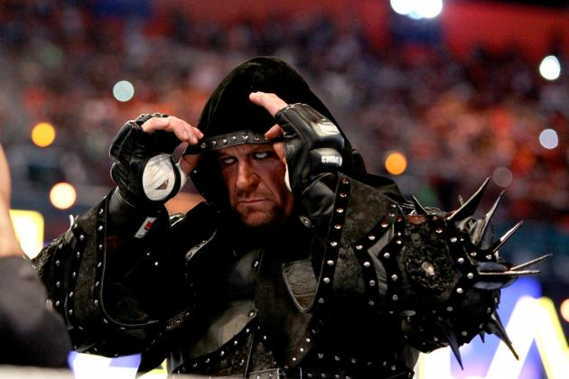 The Undertaker's Undefeated Streak Should Not End at WrestleMania 29