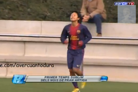 Barcelona's Seung Woo Lee (14) Scores 4 in Brilliant Performance