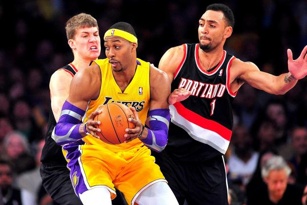 Portland Trail Blazers vs. L.A. Lakers: Live Score, Results and Game Highlights