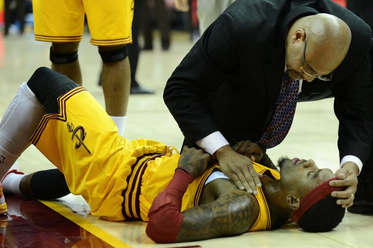 Cavs' Gibson has concussion, out next game