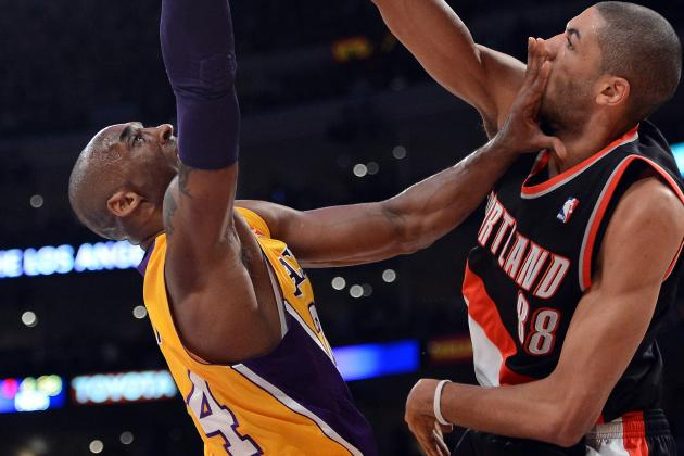Surging Lakers Rout Blazers 104-87