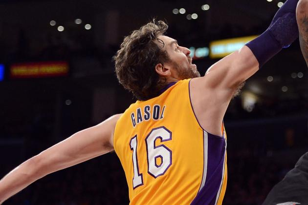 Gasol Grows as the Lakers Grow