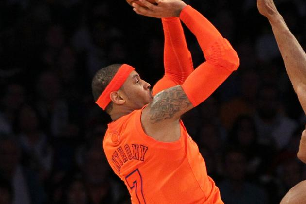 Injured Knee Forces Melo to Miss 2nd Straight Game