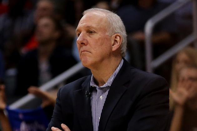Pop Defends Avery, Bemoans Nets' Impatience
