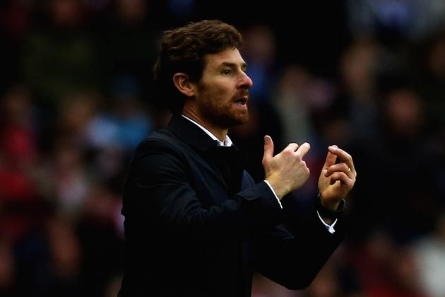 Tottenham Manager Andre Villas-Boas Delighted with Win at Sunderland