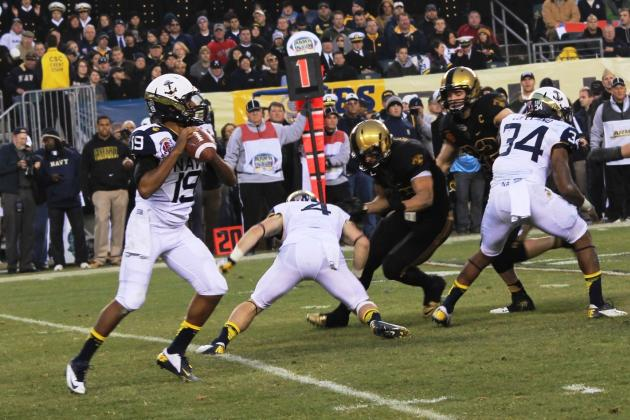Can Keenan Reynolds, Navy's Option Offense Outscore Arizona State at At&T Park?