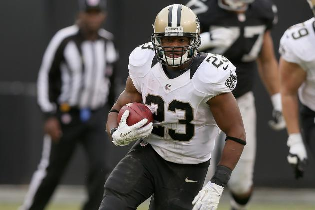 Saints RB Pierre Thomas Lands on IR