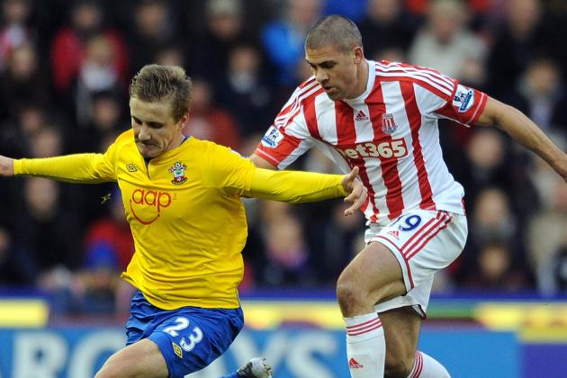 10-Man Stoke Stun Southampton with 3-3 Draw
