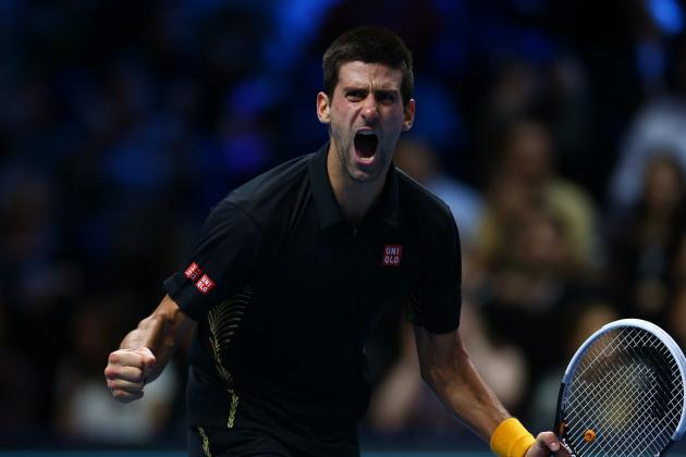 Novak Djokovic Wins WTC Final Against Nicolas Almagro