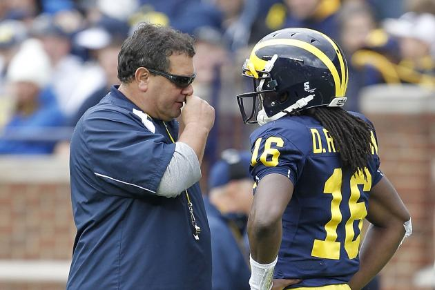 Denard Robinson Practicing on Return Teams, Brady Hoke Says