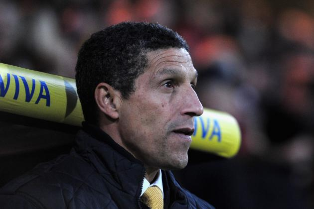 Hughton Defends Bassong in Norwich's 4-3 Defeat to Man City