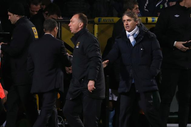 Mancini Says Man City Will Appeal Against Red Card Shown to Samir Nasri