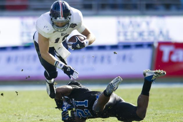 Armed Forces Bowl 2012: Rice vs. Air Force Live Scores, Analysis and Results