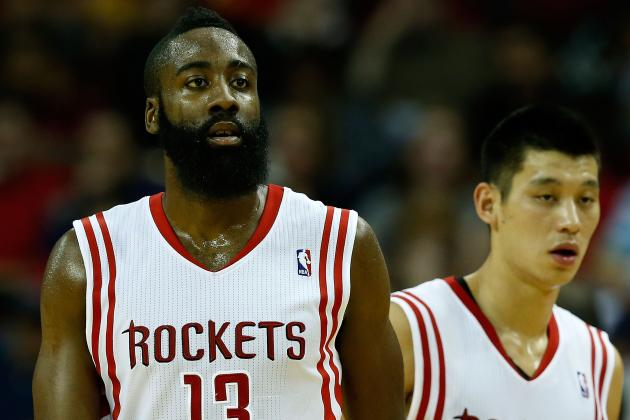With Harden and Lin Jelling, Rockets Are Picking Up Steam