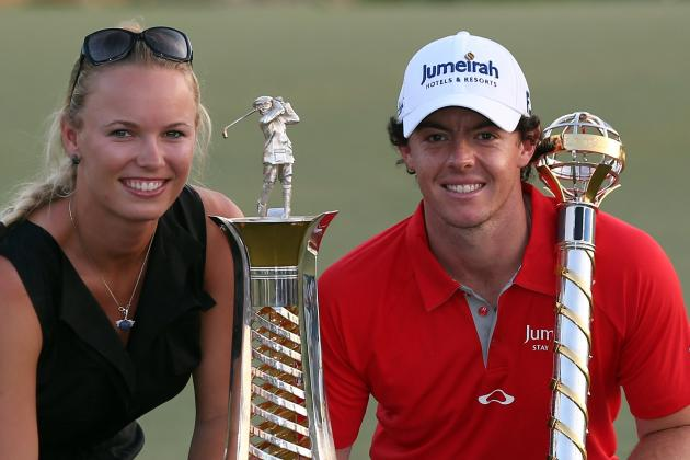 Rory McIlroy Denies Being Engaged to Tennis Star Caroline Wozniacki