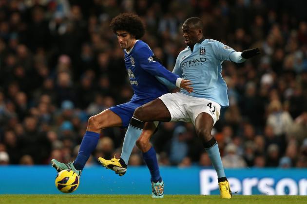 While Everton Await Chelsea Visit, Headbutting Fellaini's Future Still Unclear