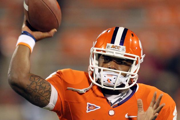 Tajh Boyd Has a Better Arm Than the Heisman Winner